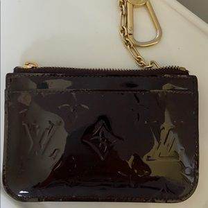 LV key chain wallet/card holder